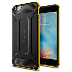 Купить Чехол Spigen Neo Hybrid Carbon Reventon Yellow для iPhone 6/6s Plus