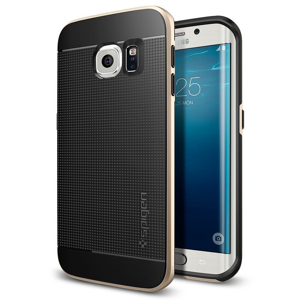 Чехол Spigen Neo Hybrid Champagne Gold для Samsung Galaxy S6