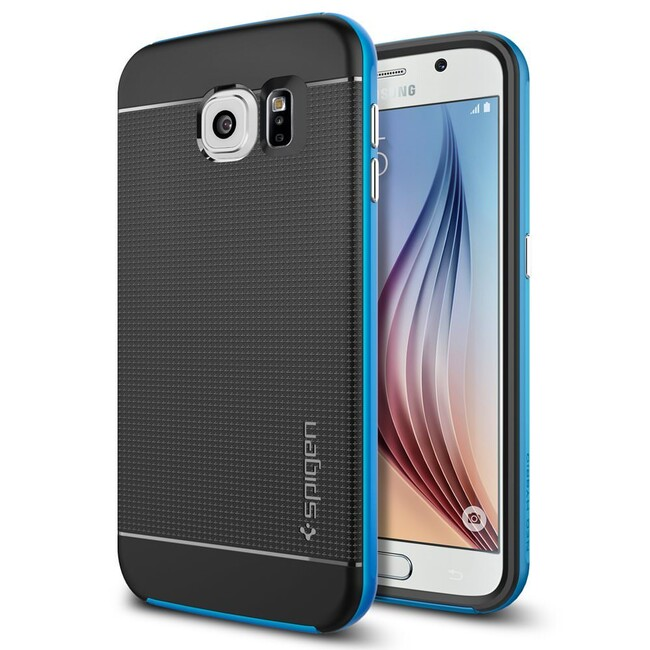 Чехол Spigen Neo Hybrid Electric Blue для Samsung Galaxy S6