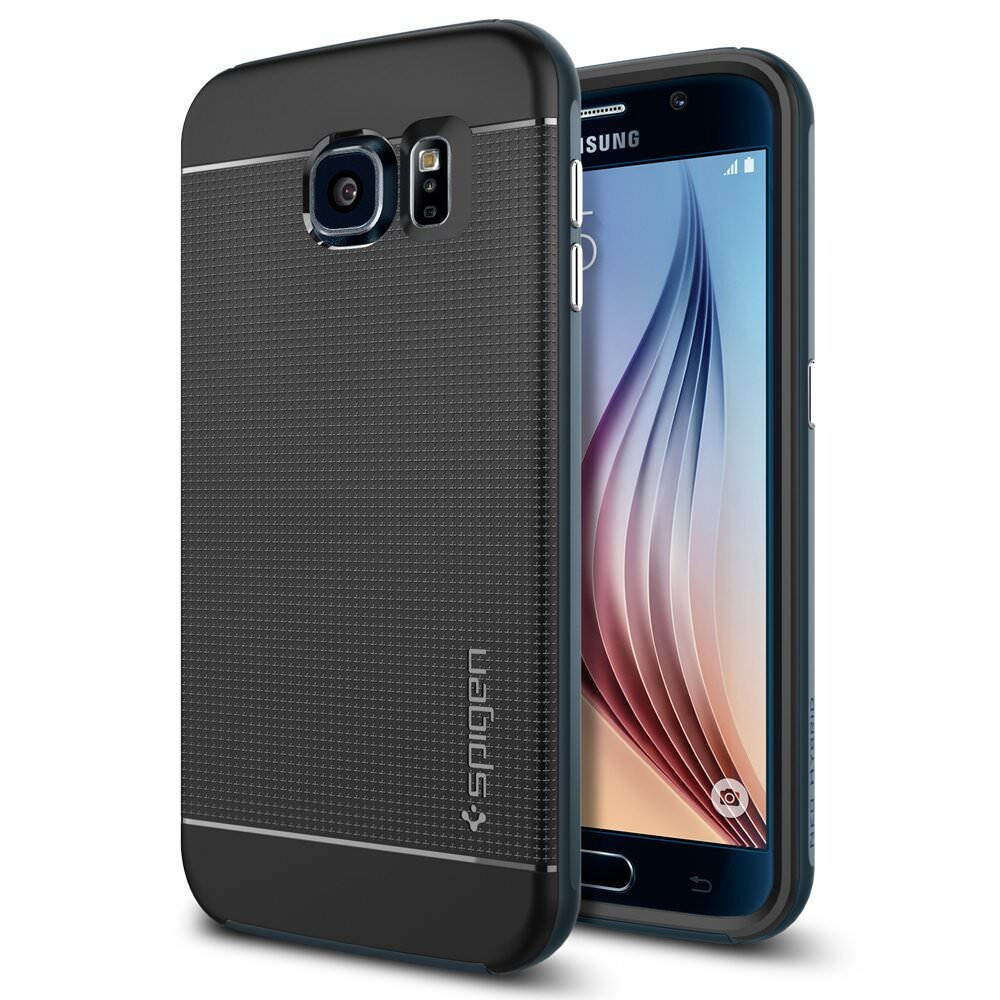 Чехол Spigen Neo Hybrid Metal Slate для Samsung Galaxy S6