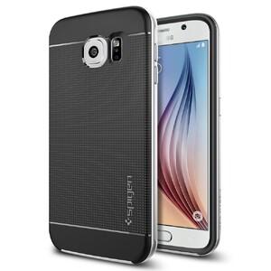 Купить Чехол Spigen Neo Hybrid Satin Silver для Samsung Galaxy S6