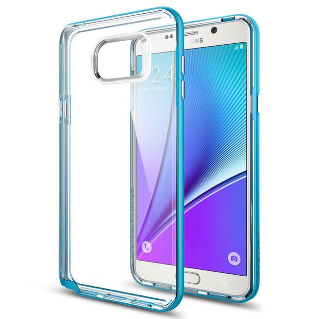 Чехол Spigen Neo Hybrid Crystal Blue Topaz для Samsung Galaxy Note 5
