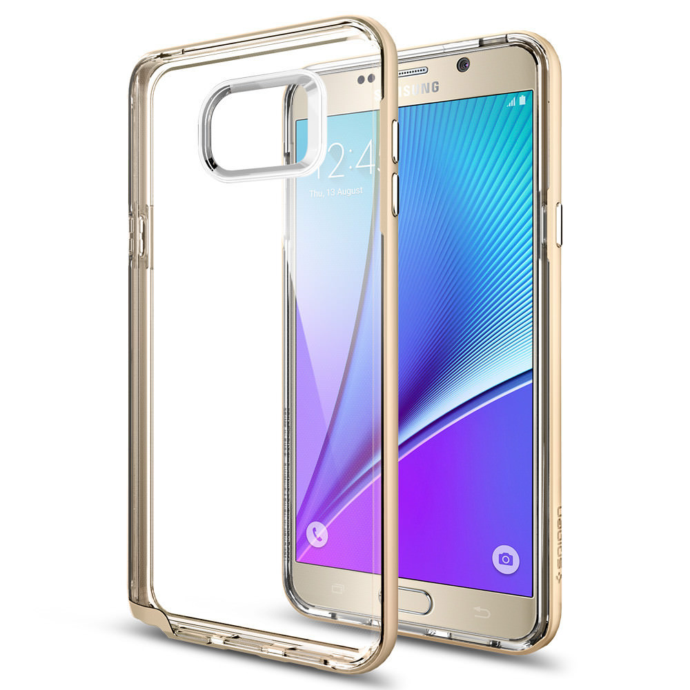 Купить Чехол Spigen Neo Hybrid Crystal Champagne Gold для Samsung Galaxy Note 5