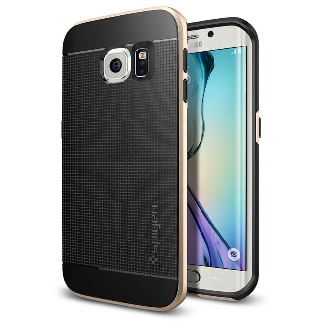 Чехол Spigen Neo Hybrid Champagne Gold для Samsung Galaxy S6 Edge