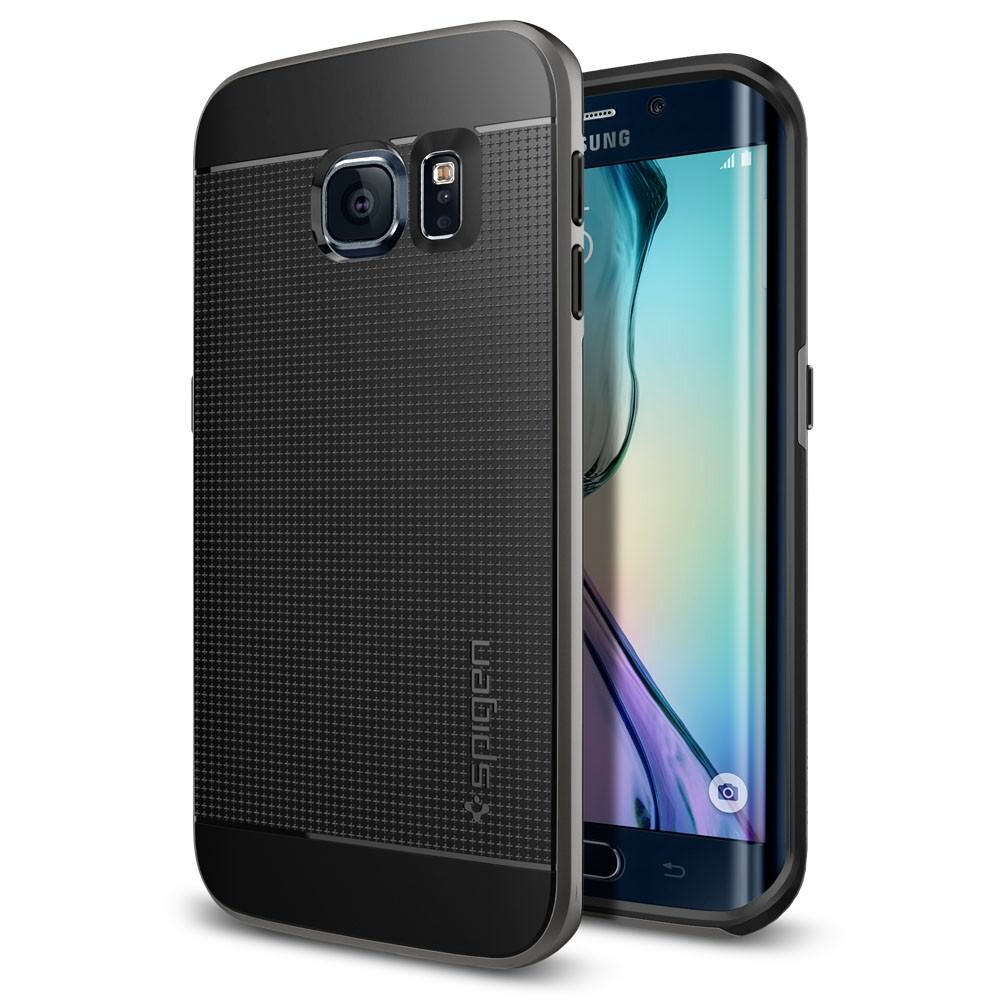 Чехол Spigen Neo Hybrid Gunmetal для Samsung Galaxy S6 Edge