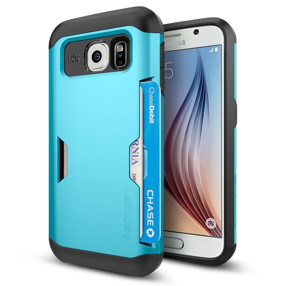 Чехол Spigen Slim Armor CS Blue Topaz для Samsung Galaxy S6