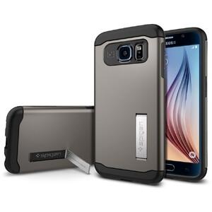 Купить Чехол Spigen Slim Armor Gunmetal для Samsung Galaxy S6