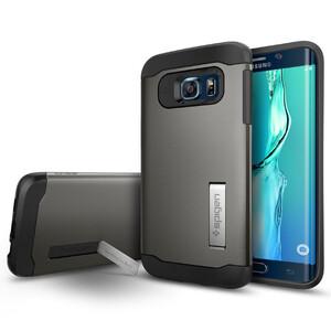 Купить Чехол Spigen Slim Armor Gunmetal для Samsung Galaxy S6 Edge+