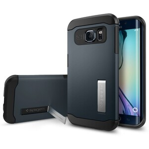 Купить Чехол Spigen Slim Armor Metal Slate для Galaxy S6 Edge