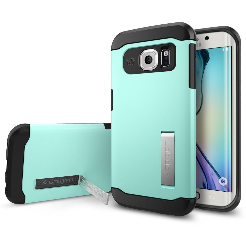 Купить Чехол Spigen Slim Armor Mint для Galaxy S6 Edge