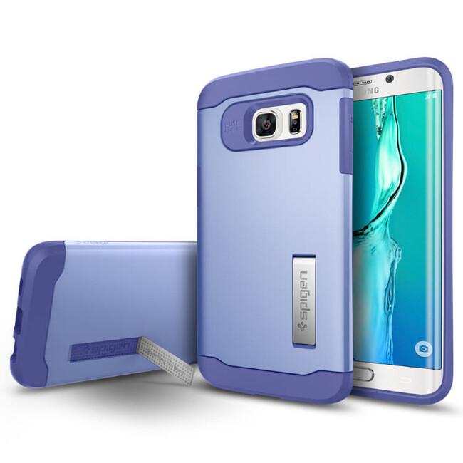 Чехол Spigen Slim Armor Violet для Samsung Galaxy S6 Edge+