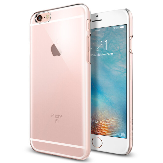 Чехол Spigen Thin Fit Crystal Clear для iPhone 6/6s