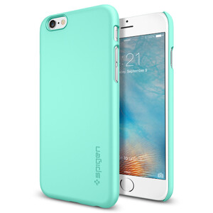 Купить Чехол Spigen Thin Fit Mint для iPhone 6/6s