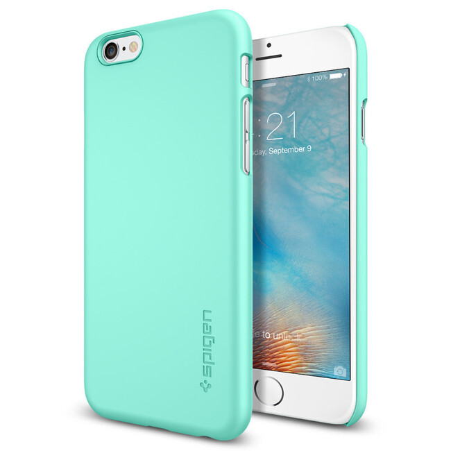 Чехол Spigen Thin Fit Mint для iPhone 6/6s