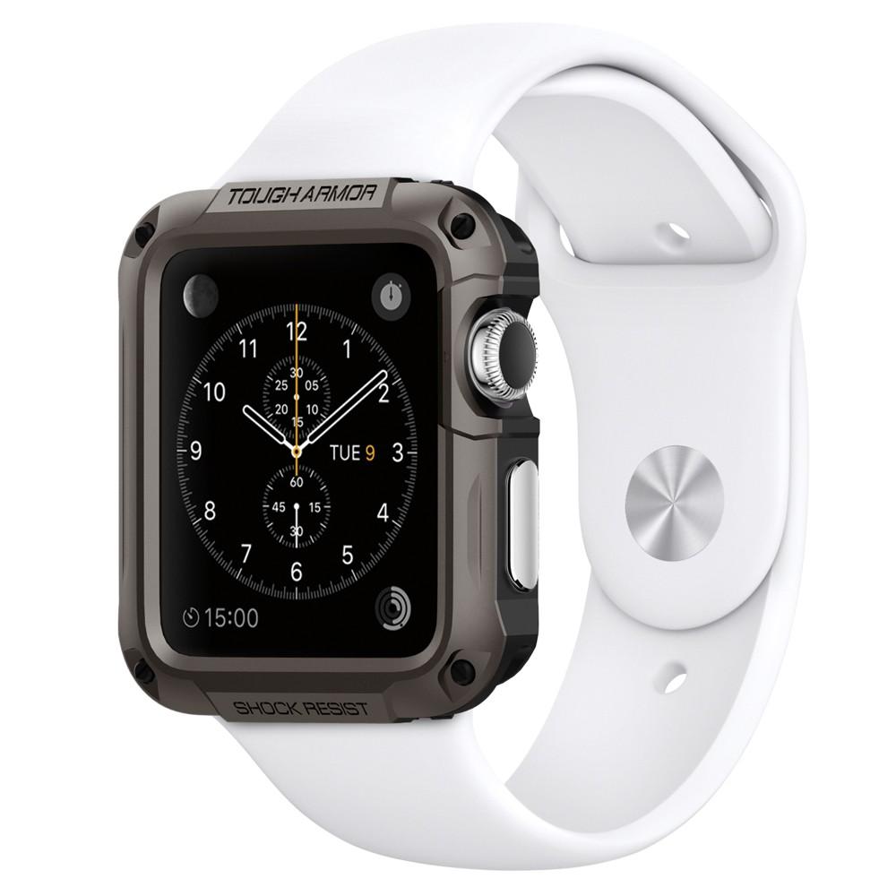 Купить Чехол Spigen Tough Armor Gunmetal для Apple Watch Series 1 | 2 | 3 42mm