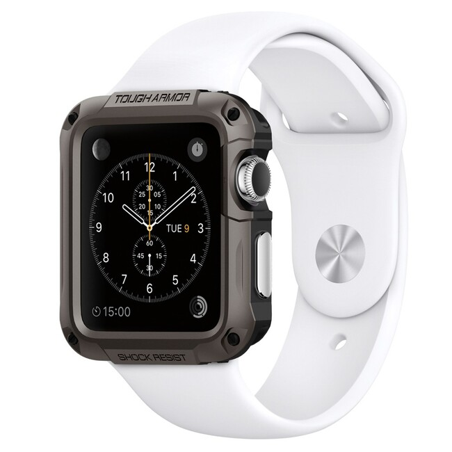 Чехол Spigen Tough Armor Gunmetal для Apple Watch 42mm