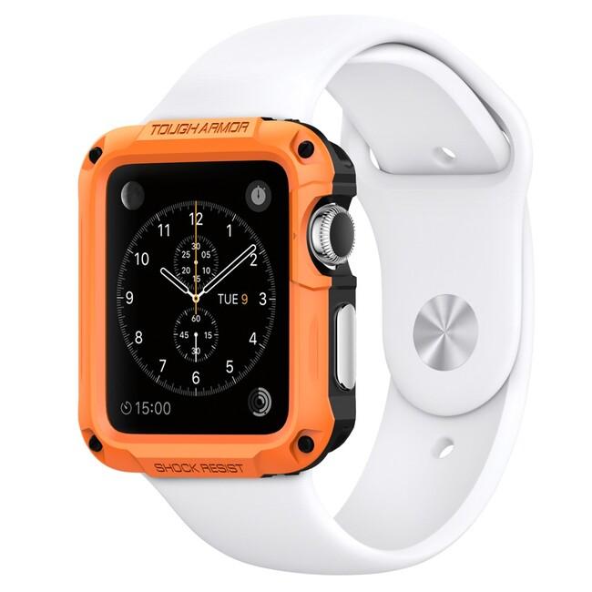 Чехол Spigen Tough Armor Tangerine Tango для Apple Watch 42mm