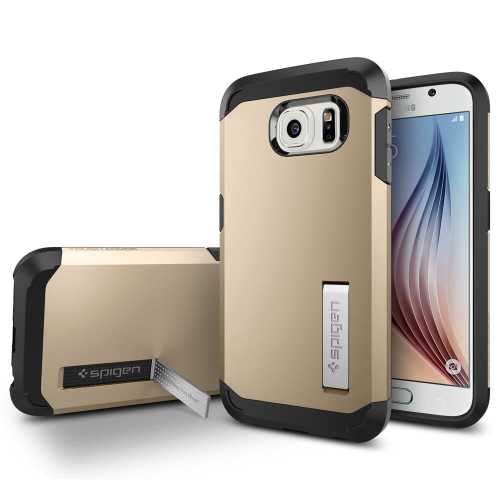 Чехол Spigen Tough Armor Champagne Gold для Samsung Galaxy S6