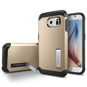 Купить Чехол Spigen Tough Armor Champagne Gold для Samsung Galaxy S6