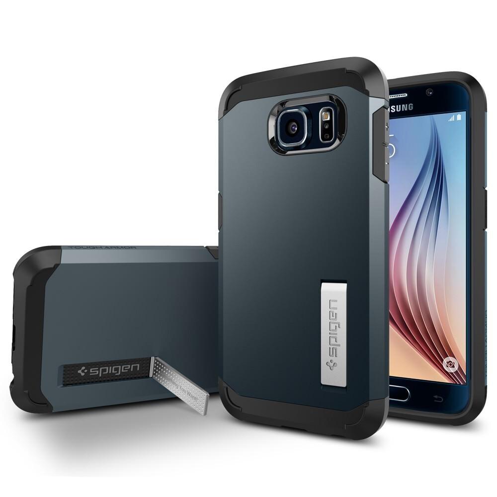Чехол Spigen Tough Armor Metal Slate для Samsung Galaxy S6