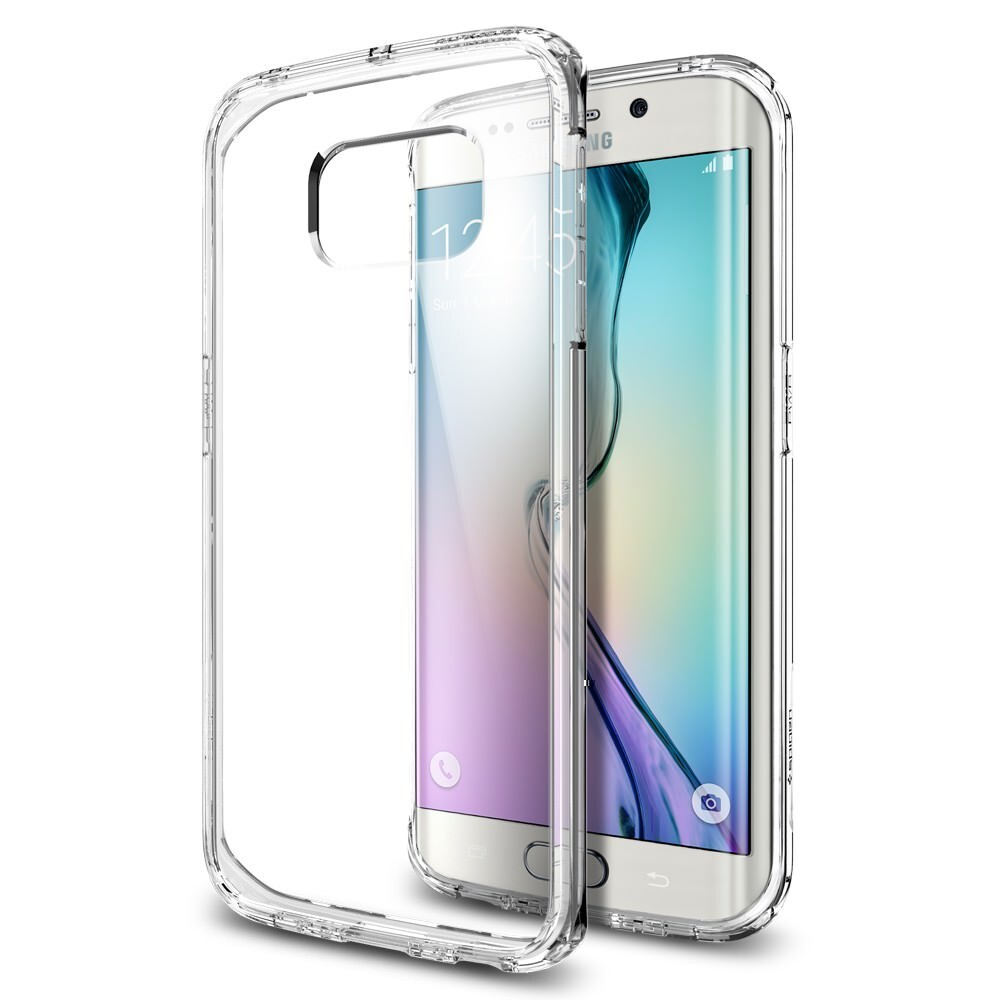 Чехол Spigen Ultra Hybrid Crystal Clear для Samsung Galaxy S6 Edge