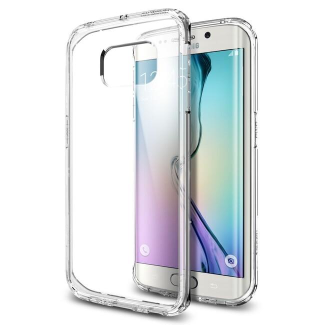 Чехол Spigen Ultra Hybrid Crystal Clear для Samsung Galaxy S6 Edge