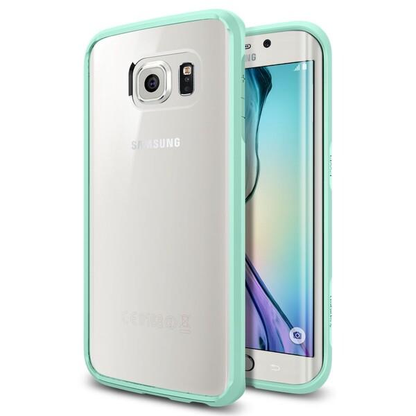 Чехол Spigen Ultra Hybrid Mint для Samsung Galaxy S6 Edge