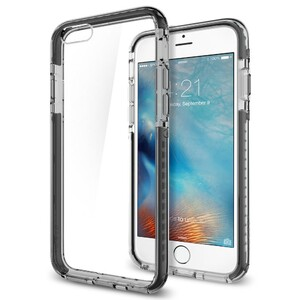 Купить Чехол Spigen Ultra Hybrid TECH Crystal Black для iPhone 6/6s