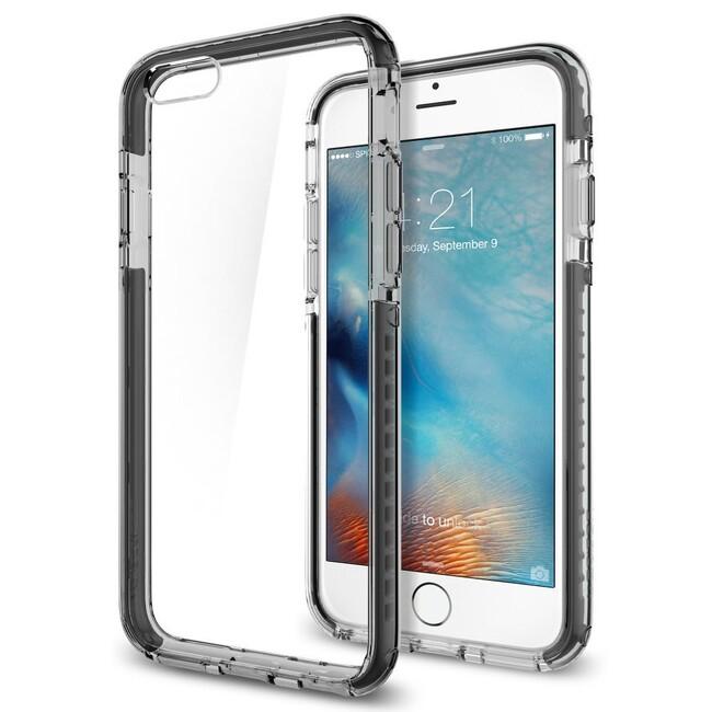 Чехол Spigen Ultra Hybrid TECH Crystal Black для iPhone 6/6s