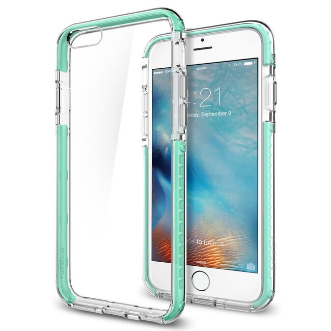 Чехол Spigen Ultra Hybrid TECH Crystal Mint для iPhone 6/6s