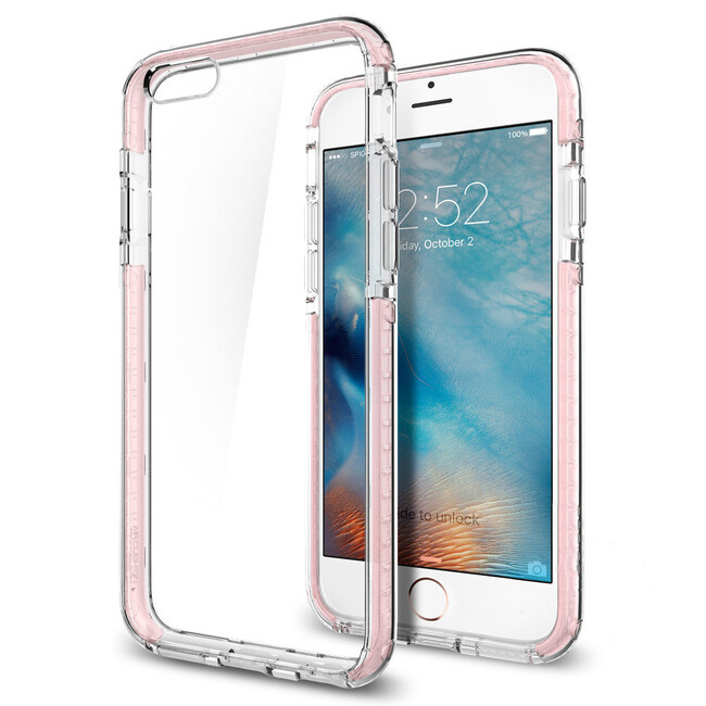 Чехол Spigen Ultra Hybrid TECH Crystal Rose для iPhone 6/6s