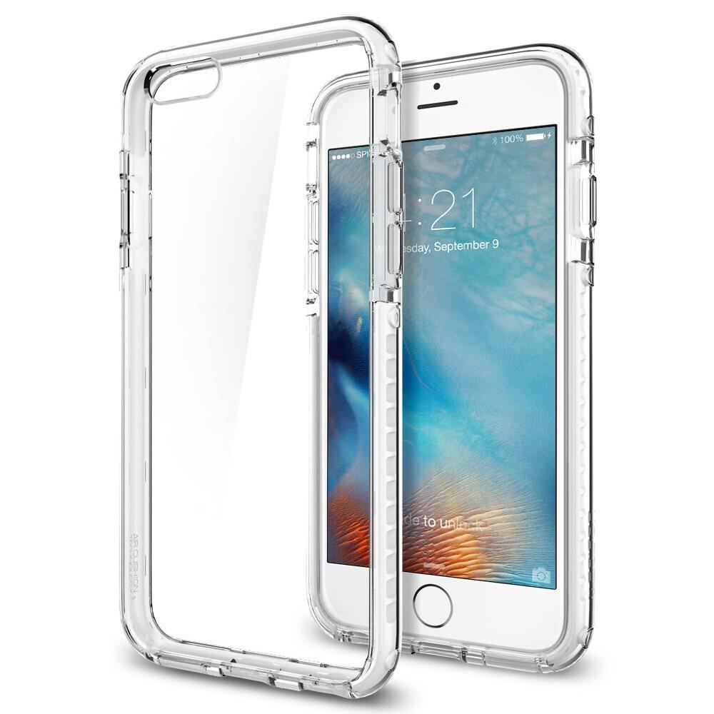 Чехол Spigen Ultra Hybrid TECH Crystal White для iPhone 6/6s