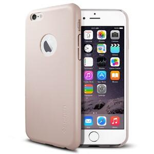 Купить Кожаный чехол Spigen SGP Leather Fit Soft Pink для iPhone 6/6s
