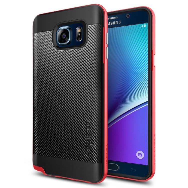 Купить Чехол Spigen Neo Hybrid Carbon Dante Red для Samsung Galaxy Note 5