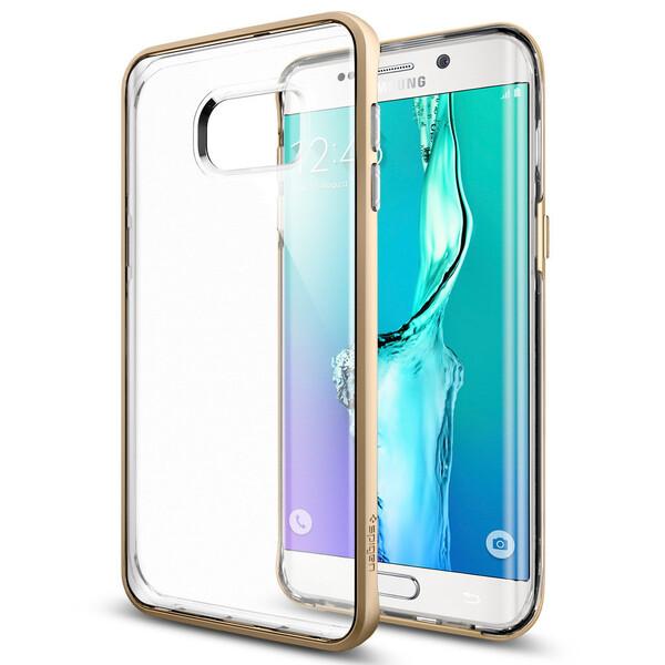 Чехол Spigen Neo Hybrid Crystal Champagne Gold для Samsung Galaxy S6 Edge+