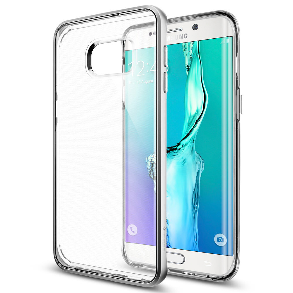 Чехол Spigen Neo Hybrid Crystal Satin Silver для Samsung Galaxy S6 Edge+