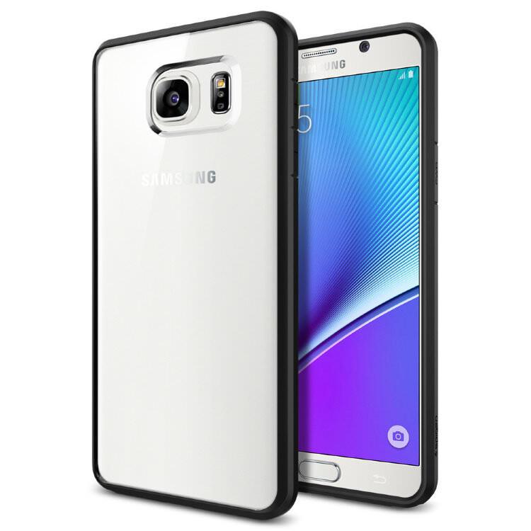 Чехол Spigen Ultra Hybrid Black для Samsung Galaxy Note 5