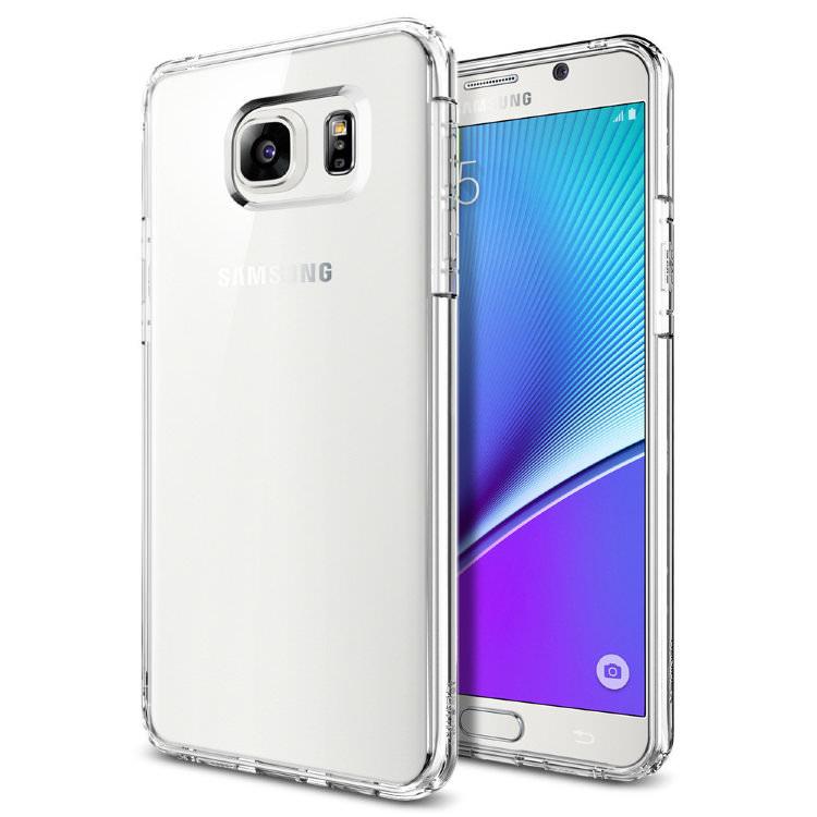 Купить Прозрачный чехол Spigen Ultra Hybrid Crystal Clear для Samsung Galaxy Note 5