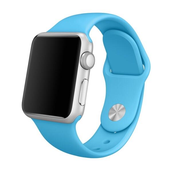 Ремешок iLoungeMax Sport Band 38mm | 40mm Blue для Apple Watch SE | 6 | 5 | 4 | 3 | 2 | 1 OEM