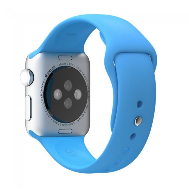 Ремешок Sport Band 38mm Blue для Apple Watch Series 1/2