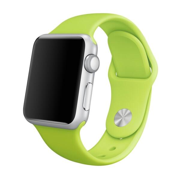 Ремешок iLoungeMax Sport Band 38mm | 40mm Green для Apple Watch SE | 6 | 5 | 4 | 3 | 2 | 1 OEM