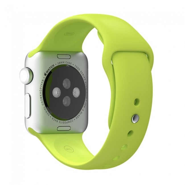 Ремешок Sport Band 38mm Green для Apple Watch Series 1/2/3