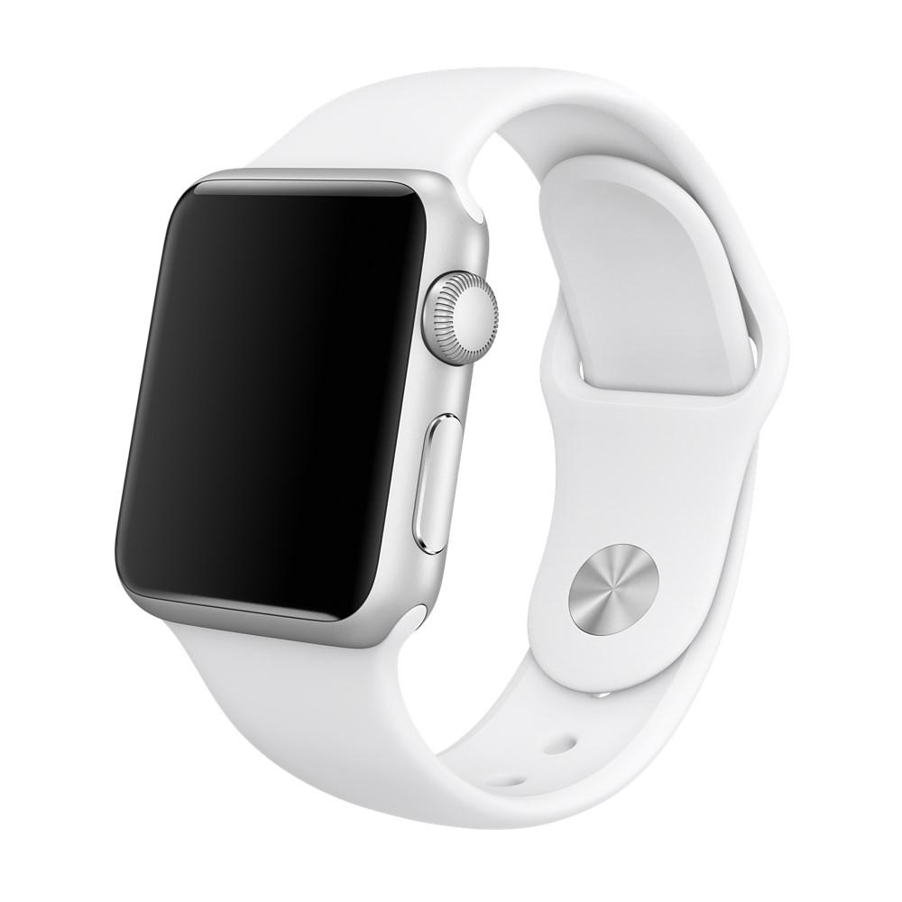 Купить Ремешок oneLounge Sport Band 38mm | 40mm White для Apple Watch SE | 6 | 5 | 4 | 3 | 2 | 1 OEM