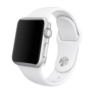 Ремінець iLoungeMax Sport Band 41mm   40mm   38mm White для Apple Watch SE   7   6   5   4   3   2   1 OEM