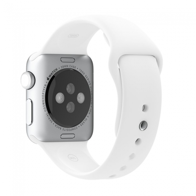 Ремешок Sport Band 38mm White для Apple Watch