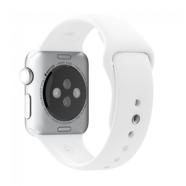 Ремешок Sport Band 38mm White для Apple Watch Series 1/2