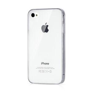 Купить Прозрачный TPU чехол Silicol Clear 0.29mm для iPhone 4/4S