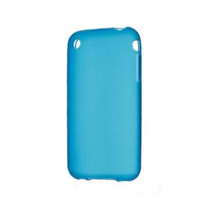 Купить Голубой TPU чехол Silicol 0.6mm для iPhone 3G/3GS
