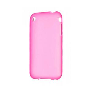 Купить Розовый TPU чехол Silicol 0.6mm для iPhone 3G/3GS