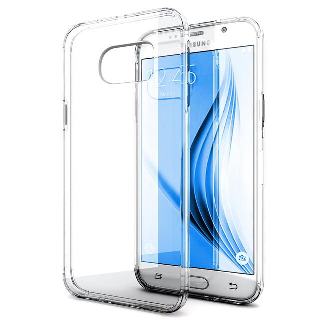 Прозрачный TPU чехол Silicol 0.6mm для Samsung Galaxy S7